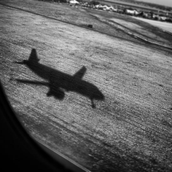 Here is a selfie as we landed in Amsterdam.