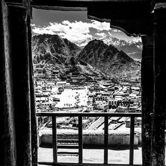 From up on high in Leh, Northern India