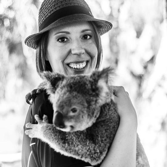 Astra and the Koala