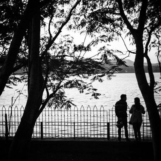 The couple, India