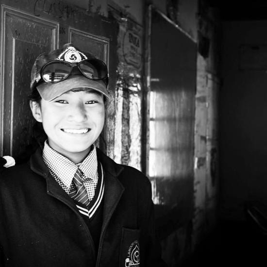 School girl in Zanskar