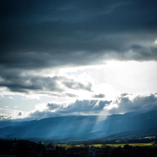 Light Rays, Burtigny, Switzerland